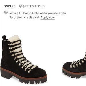 Jeffery Campbell Sherpa Culvert boots